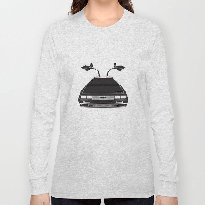 Delorean DMC 12 / Time machine / 1985 Long Sleeve T-shirt