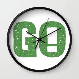 GO! Wall Clock