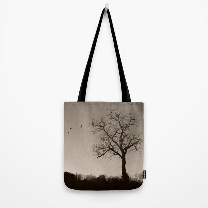 Melancholy in December Tote Bag