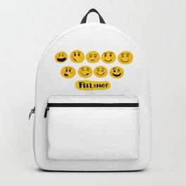 Emoji Feelings Backpack