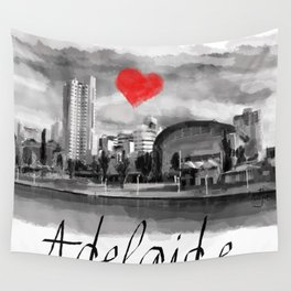 I love Adelaide Wall Tapestry
