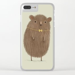 Grizzly Made an Effort Clear iPhone Case