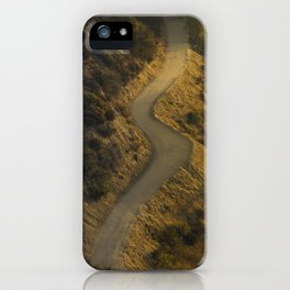 Griffith Park Hiking Trail iPhone Case