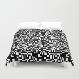 geometric decomposition in black Duvet Cover