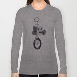 Little Robot Long Sleeve T-shirt