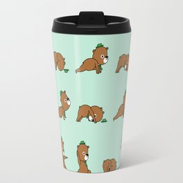 Yoga Bear Travel Mug