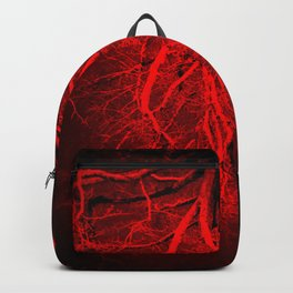 Twisted Perception Vampire Blood Red Backpack