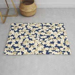 Floral Cluster Print  Rug