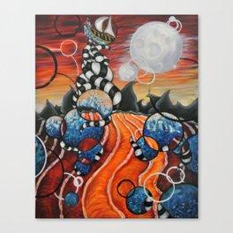 Circleception Canvas Print