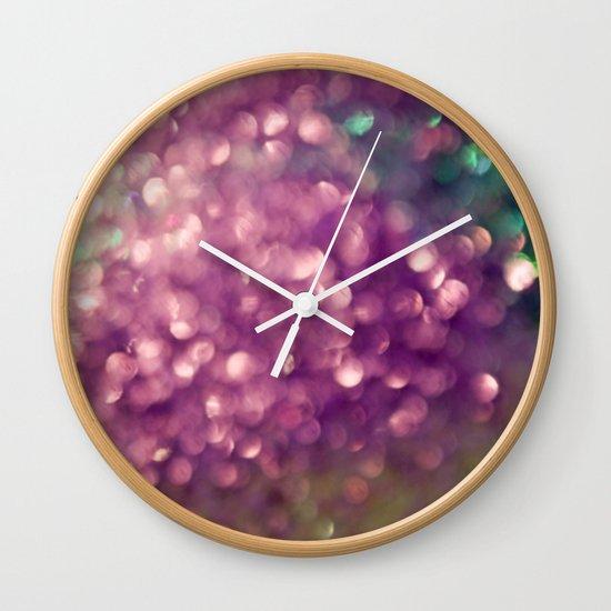Muscadine Wine Wall Clock