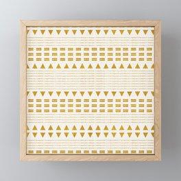 NORTH BOHO STRIPE Framed Mini Art Print