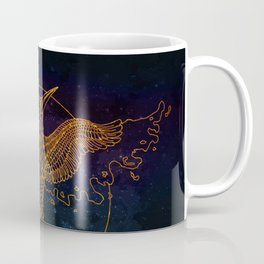 Cosmic Bird Coffee Mug