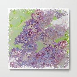Vintage Lilac Metal Print