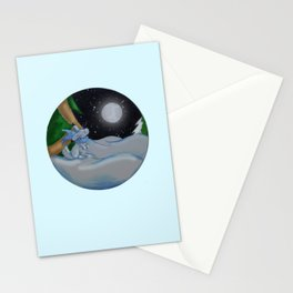 The Festive Moon Stationery Cards