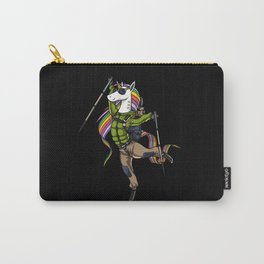 Hiking Unicorn Mountain Climber Carry-All Pouch
