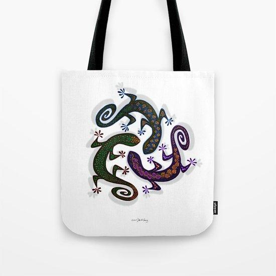 GECKO CIRCLE Tote Bag