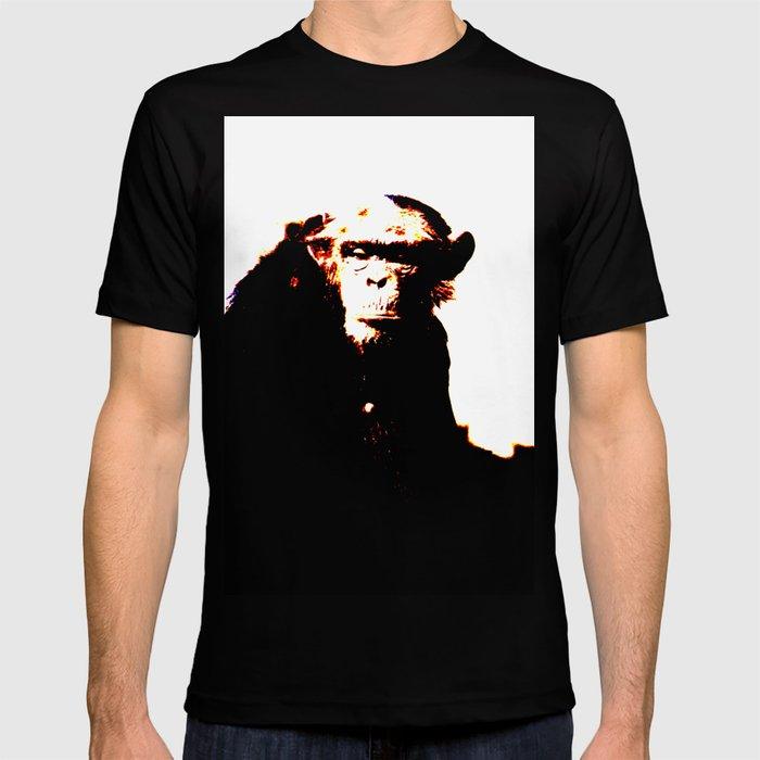 Abstract Chimp T-shirt