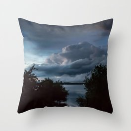 Stormy II Throw Pillow