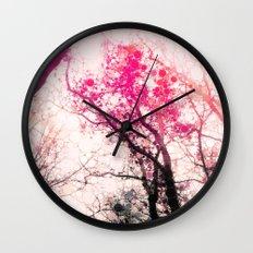 Tree Silhouette 2 Wall Clock