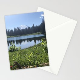 Mount Rainier from Tipsoo Lake Stationery Cards