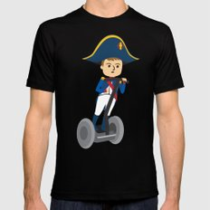 Napoleon Segways the Alps Mens Fitted Tee MEDIUM Black