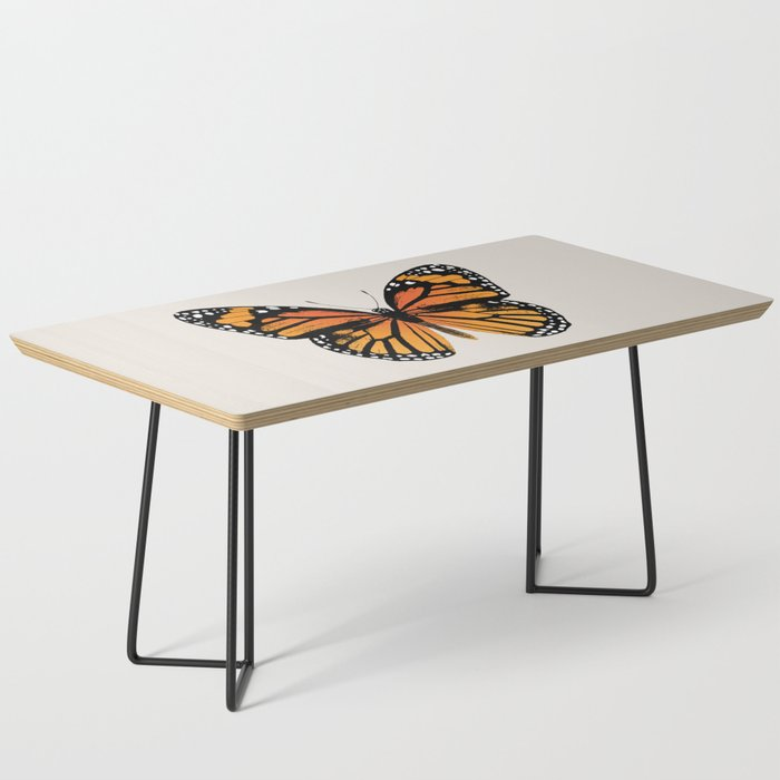 Monarch Butterfly | Vintage Butterfly | Coffee Table