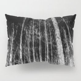 Black and white tree photography - Watercolor series #7 Pillow Sham