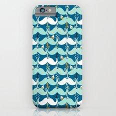 Mustache Waves Slim Case iPhone 6s