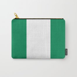 Nigerian Flag - Authentic High Quality HD Image Carry-All Pouch