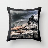 30 rock Throw Pillows featuring Vortex ! by AwakeningLight