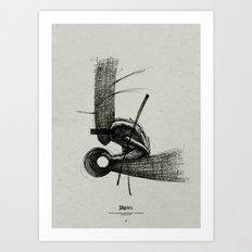 Pilgrim I. Art Print