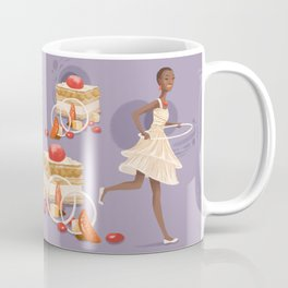 Blood Orange Millefeuille Coffee Mug