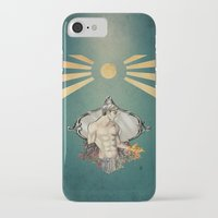 saturn iPhone & iPod Cases featuring Saturn by Audrey Nichols
