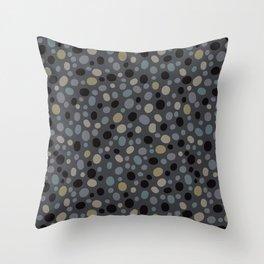 Pebble Polka Dot Allover Throw Pillow