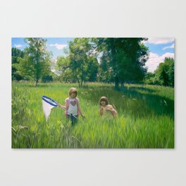 Hunting Party Canvas Print