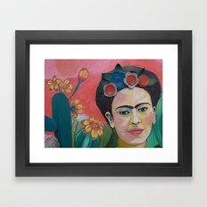 Frida Kahlo Detail Framed Art Print