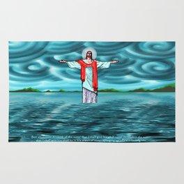 Never Thirst John 4:14 Rug
