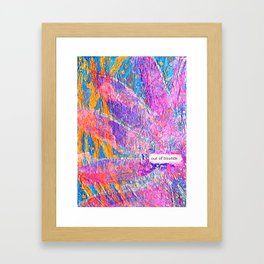 Out of Bounds Framed Art Print