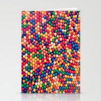 gumball Stationery Cards featuring Gumball Pop by WayfarerPrints