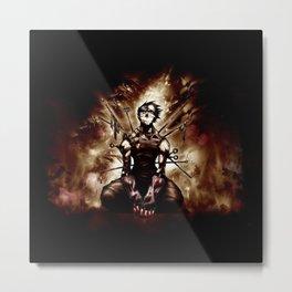 zabuza Metal Print