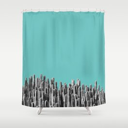 Cacti 01 Shower Curtain