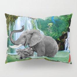 ELEPHANTS OF THE RAIN FOREST Pillow Sham