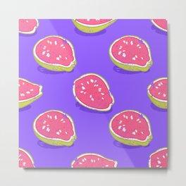 Pink guava Metal Print