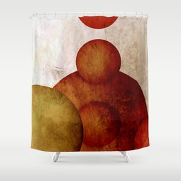 live without juggler Shower Curtain