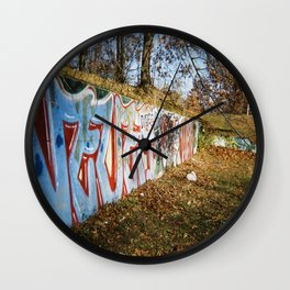 Hoodrat Things Wall Clock