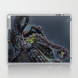 """Release the Kraken"" - Giant Octopus Digital Illustration Laptop & iPad Skin"