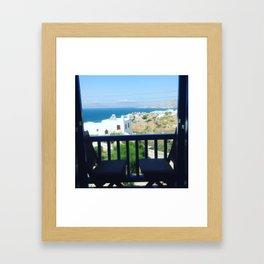Mykonos Framed Art Print
