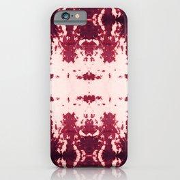 Kumo Ikat Ruby iPhone Case
