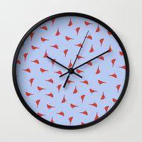 benedict Wall Clocks featuring Benedict Cumberbatch's Bird Shorts by wearemagnetised