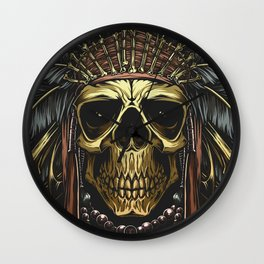 Death of Kemosabe Wall Clock